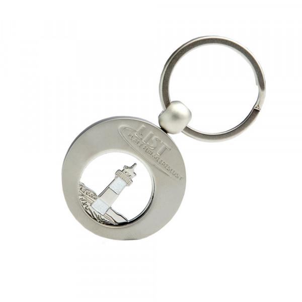 Lister Schlüsselanhänger mit Einkaufschip