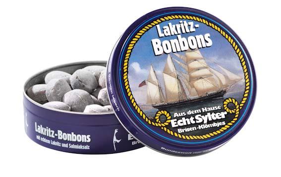Echt Sylter Brisen-Klömbjes, Lakritz Bonbons