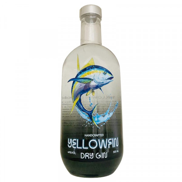 Yellowfin Dry Gin, 500ml, 44% Vol