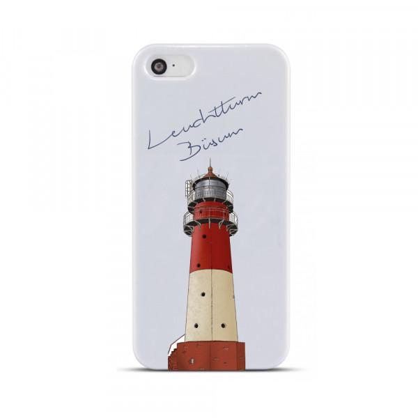"""Handyhülle """"Leuchtturm Büsum"""", Hardcover für iPhone & Samsung Galaxy"""