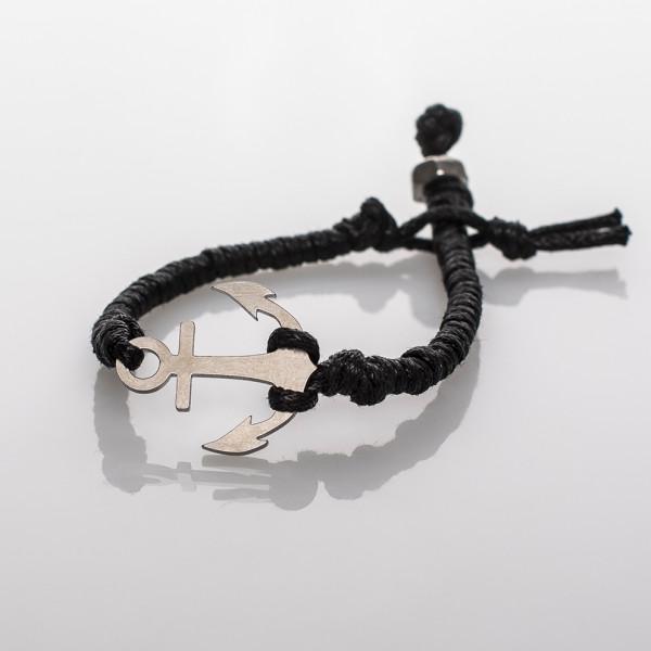 Anker-Armband in Edelstahl