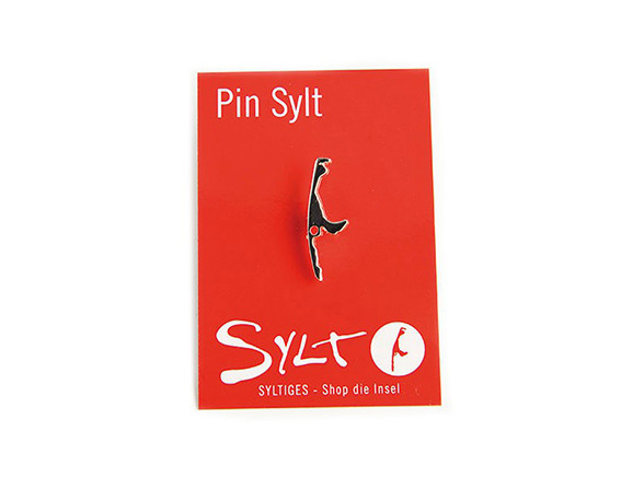 Sylt Pin - silberfarbig