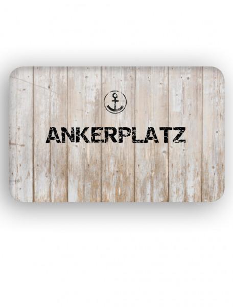 "Fussmatte ""Ankerplatz"""