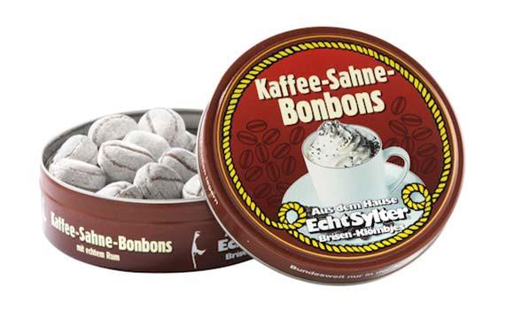 Echt Sylter Brisen-Klömbjes, Kaffee-Sahne-Bonbons