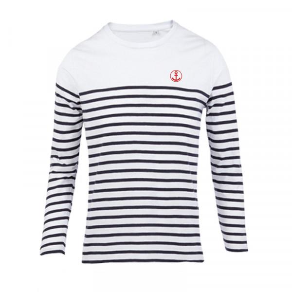 """Frauen Langarm-Shirt """"Anker"""", gestreift"""