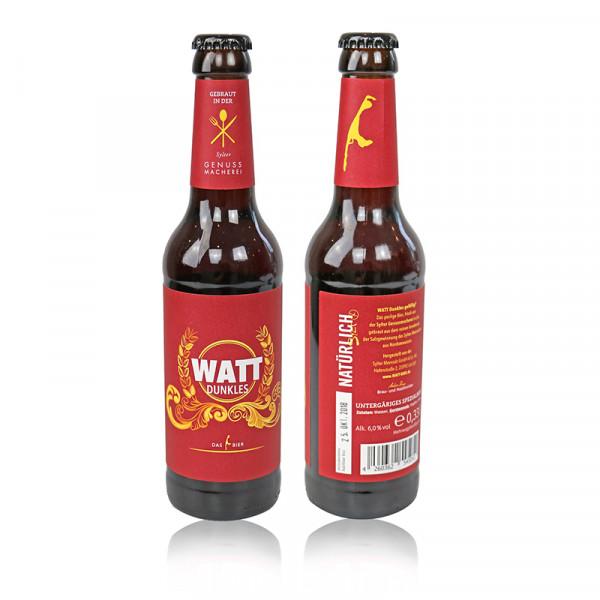 "Sylt-Bier ""WATT Dunkles"", 6% Vol., 0,33l-Flasche"