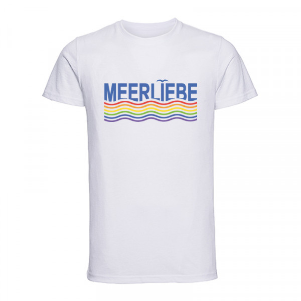 """MEERLIEBE"" Herren T-Shirt, versch. Farben"