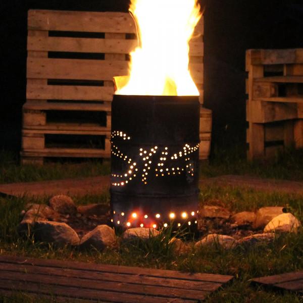 """Feuertonne """"Sylt on Fire"""", versch. Größen"""
