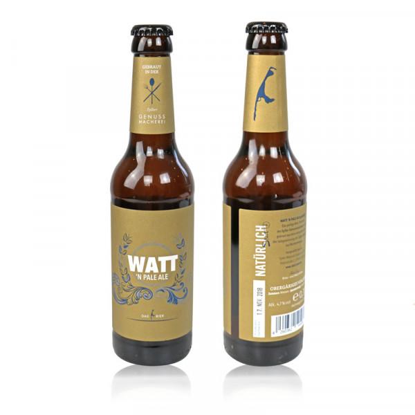 "Sylt-Bier ""WATT'n Pale Ale"", 4,7% Vol., 0,33l-Flasche"