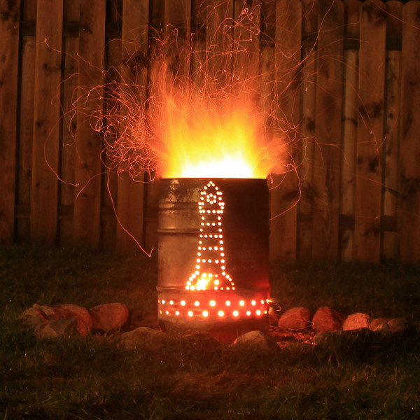 """Feuertonne """"Leuchtturm"""", versch. Größen"""