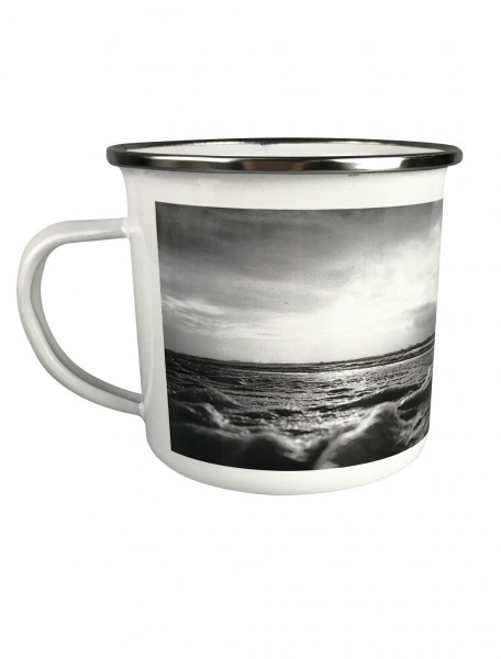 "Emaille-Becher ""North Sea: Black Edition"""