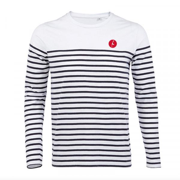 "Herren Langarm-Shirt ""Sylt"", gestreift"