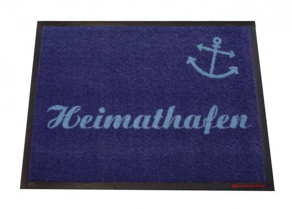 """Fussmatte """"Heimathafen"""", versch. Varianten"""
