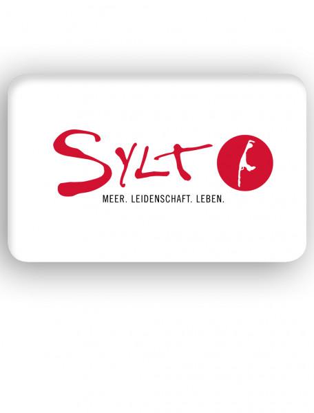 "Badematte"" Sylt Logo"""