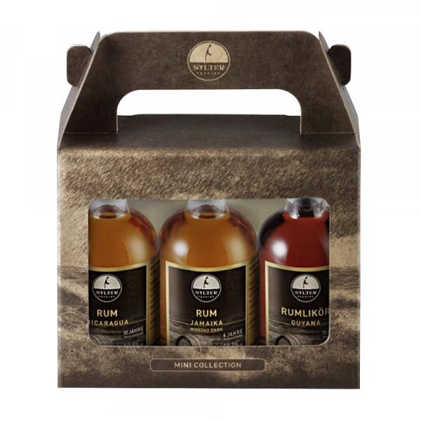 Sylter Trading Rum 3er-MiniBox, 3 x 5 cl