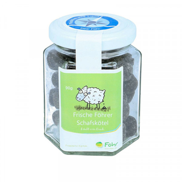 Föhr Schafskötel, Lakritz, 90 g