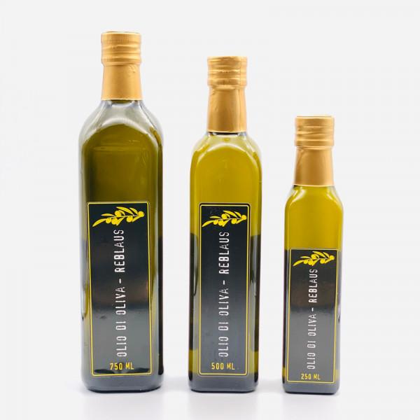 """Olivenöl """"Olio die Olivia – Reblaus"""", versch. Größen"""