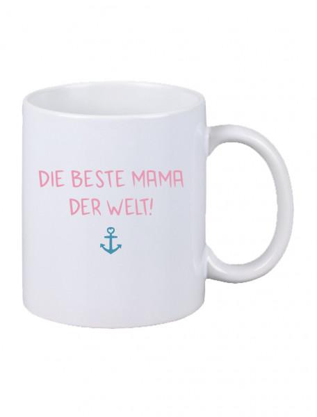 """Becher """"Beste Mama"""" versch. Farben"""