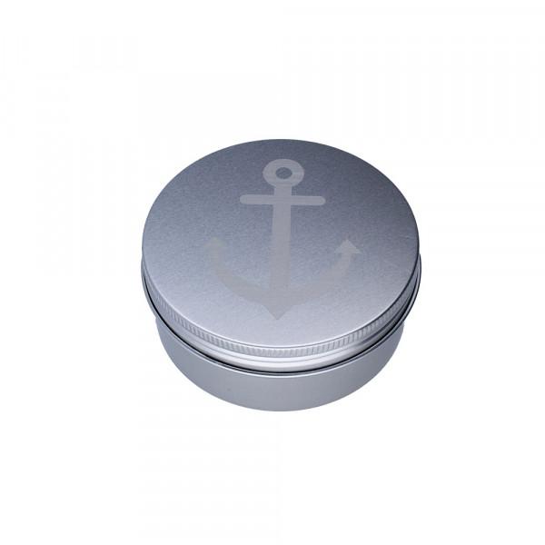 Anker-Armband aus Rindsleder (6 mm), geflochten