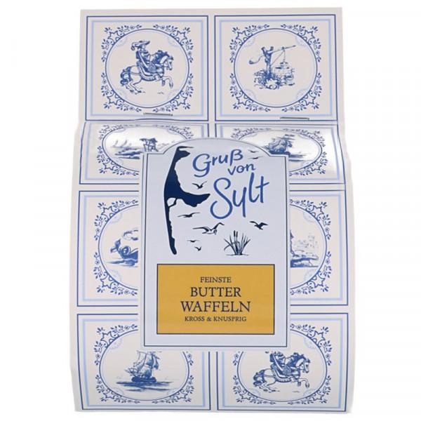 Sylter Butterwaffeln, kross & knusprig, 225g