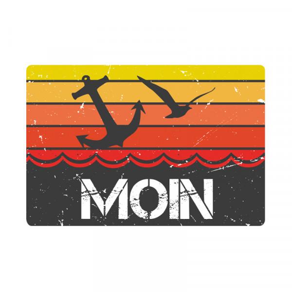 """""""Moin Möwe"""" Fussmatte, versch. Farben"""