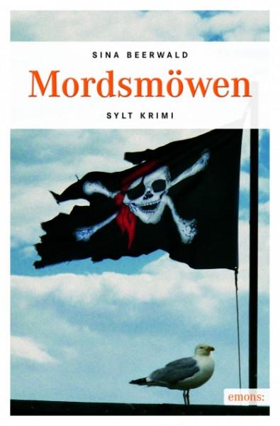 "Sylt-Krimi ""Mordsmöwen"", handsigniert + Autogrammkarte, Sina Beerwald"