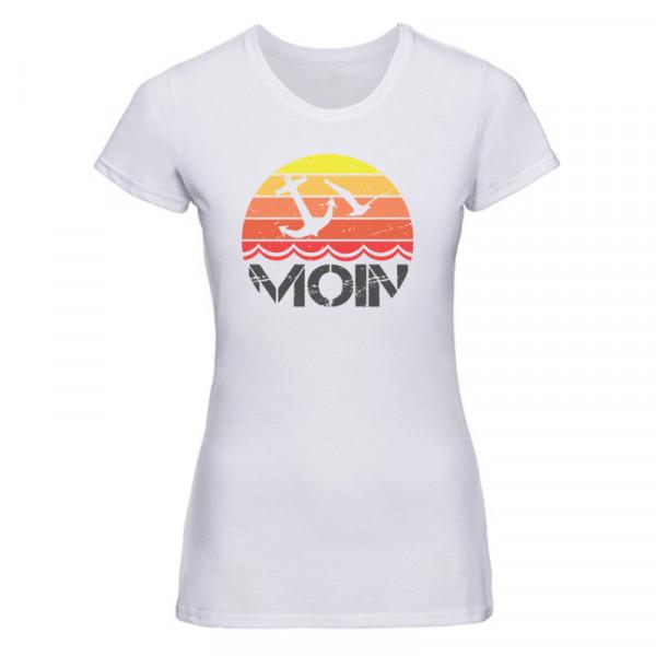 """""""MOIN Möwe"""" Damen T-Shirt, versch. Farben"""