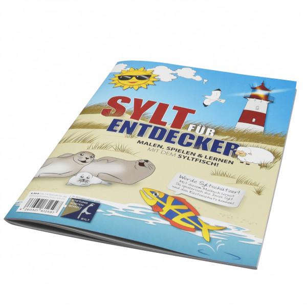 SYLTFISCH-Malbuch, DIN A4, 28 Seiten