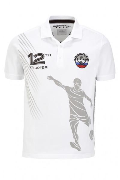 Sansibar WM-Poloshirt für Herren