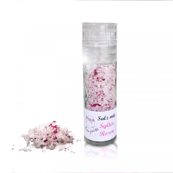 Salz mit Sylter Rosen, Salzmühle, 20 g