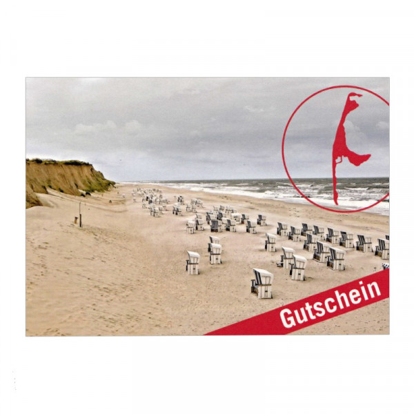 Geschenk-Gutschein Sylt