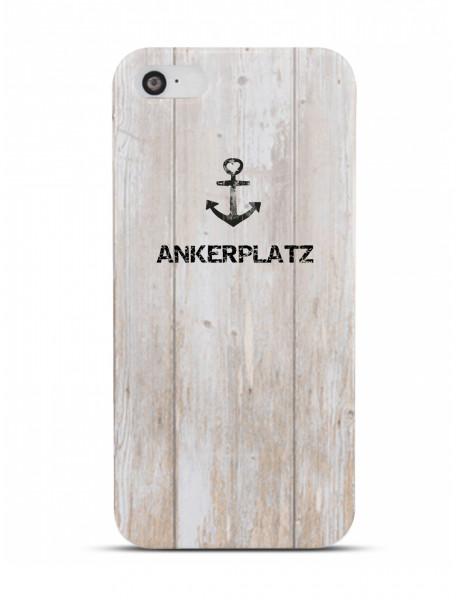 """Handyhülle """"Ankerplatz"""" Deern"""