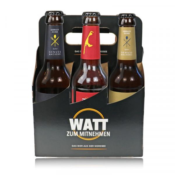 "Sylt-Bier ""Best of WATT"" im Sixpack"