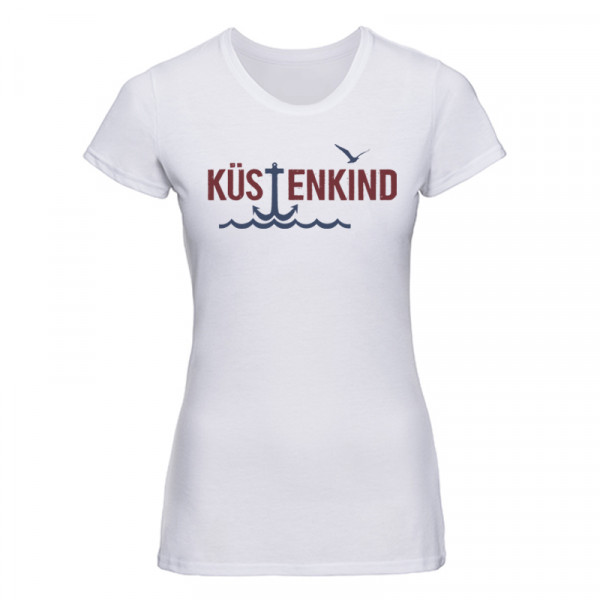 """Küstenkind"" Damen T-Shirt, versch. Motive"