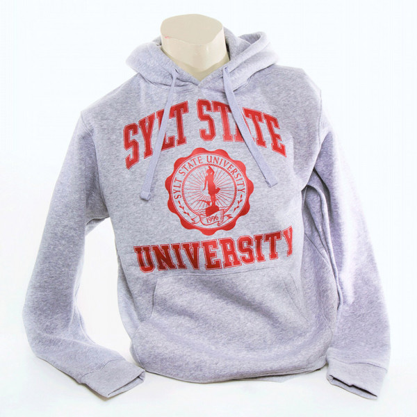SYLT STATE - Hoodie Brandon, rot