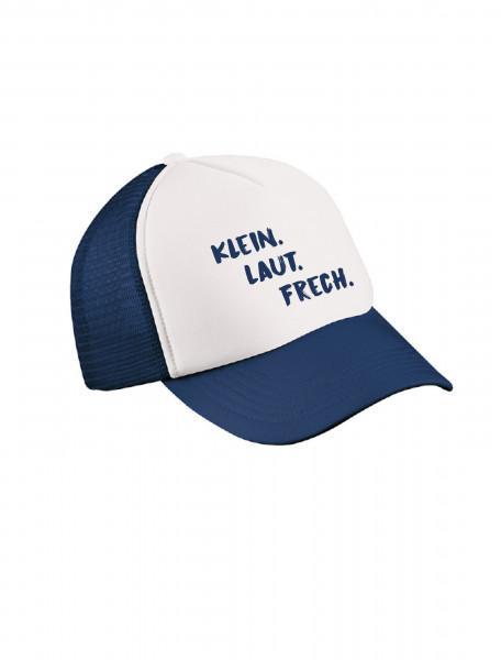"""Küsten-Cap """"Klein. Laut. Frech."""" für Kinder"""
