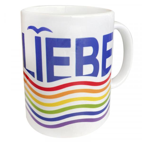 """""""MEERLIEBE"""" Tasse, versch. Farben"""