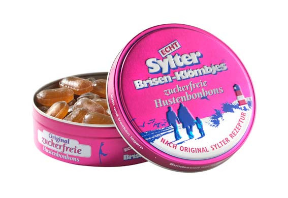 Echt Sylter Brisen-Klömbjes, zuckerfreie Hustenbonbons