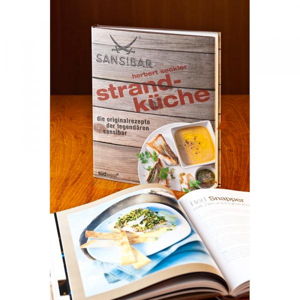 """Sansibar-Buch """"Herbert Seckler's Strandküche"""""""