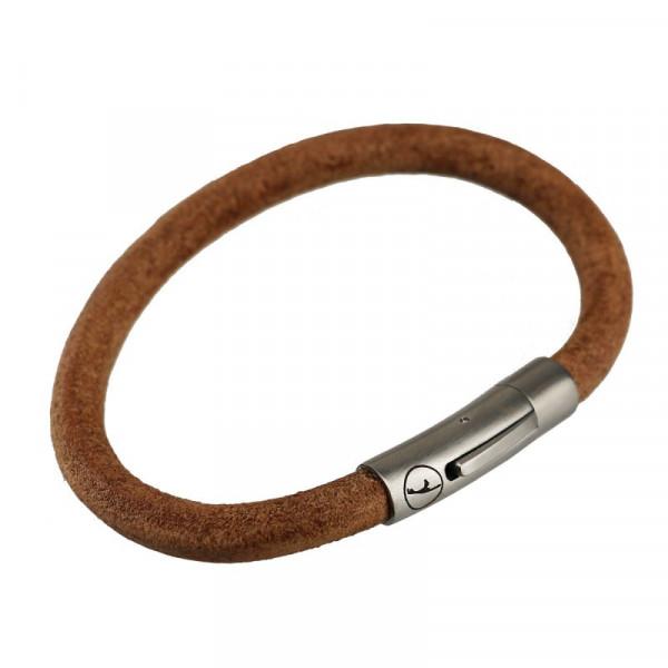 Sylt-Armband aus Leder, versch. Farben