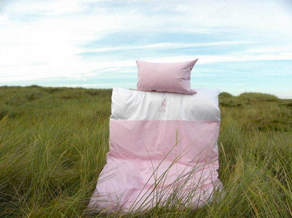 Sylt-Bettwäsche für Kinder, Mako-Satin, 100x135 cm