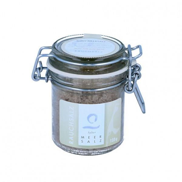 Sylter Meersalz, Rauchsalz im Glas, 125 g