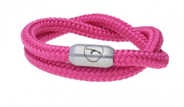 Sylt-Armband aus Segeltau (6 mm), doppelt gewickelt