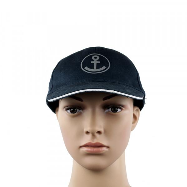 "Cap ""Sailor"", navy-weiß"